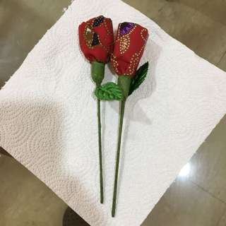 SIA Fabric Valentine Rose limited to Business Class