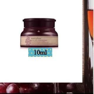 ❗️FREE NM❗️Innisfree Wine Jelly Sleeping Pack