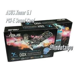 全新行貨- Asus Xonar DGX PCI-E 5.1 環繞音效卡