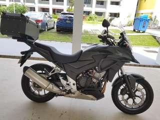 Honda CB400X Grounding Service