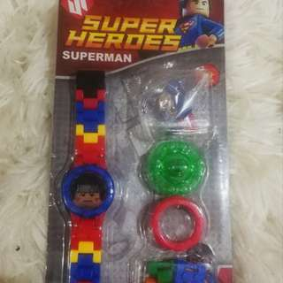 Lego superheroes watches