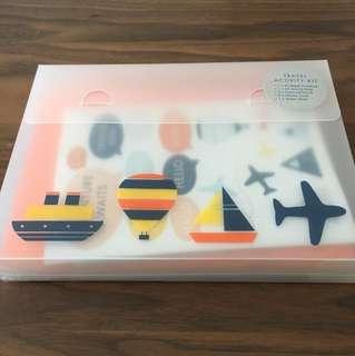 Kikki Travel Activity Kit