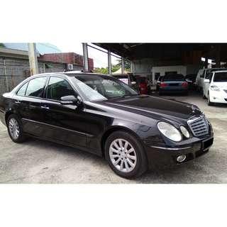 Mercedes Benz E200 1.8 (A)