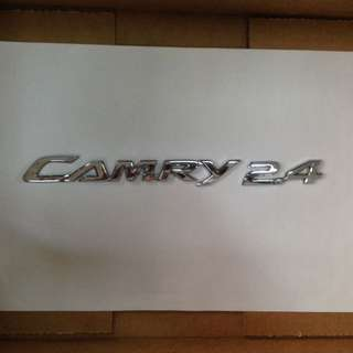 Toyota Camry ACV30 emblem