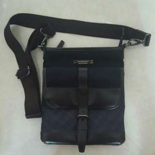 Authentic Burberry Black Label Sling Bag