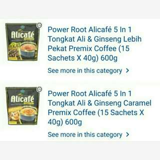 Coffee Alicafe Power Root