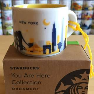 Starbucks You Are Here Ornament - New York