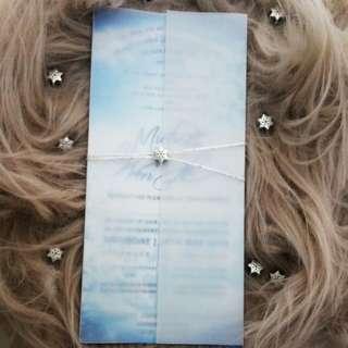 Customized Wedding Card & Prints