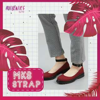 MKS SHOES STRAP RED DICE