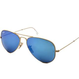 全新正貨 Ray-Ban RB3025 Aviator Flash Lenses 112/17