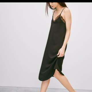 Babaton slip dress