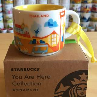 Starbucks You Are Here Ornament - Thailand