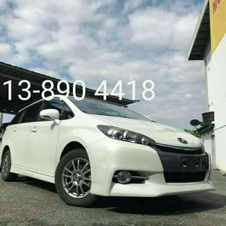 TOYOTA WISH 1.8S SUNROOF