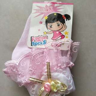 Baby Girl Fashion Socks (0-1)