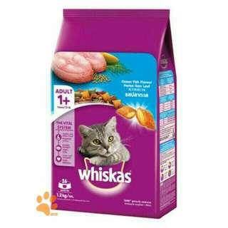 ON SALE! Whiskas 1.2kg Pack