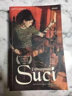 Buku Novel PEREMPUAN SUCI
