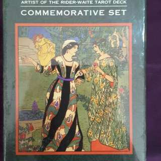 Tarot Pamela Colman Smith Comemmorative Set