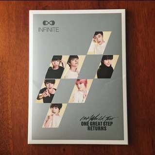 INFINITE 1ST WORLD TOUR OFFICIAL POSTCARD