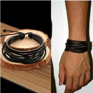 IMPORT - Gelang Bohemian Leather