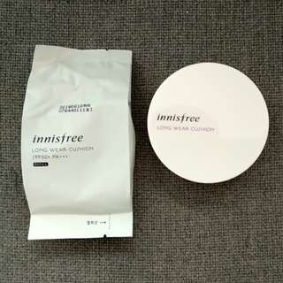 Innisfree Long Wear Cushion 11 + 1 Refill 11 (Discontinued)