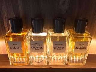 Chanel Exclusifs decants
