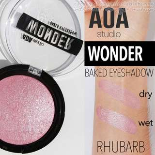 Rhubarb . Wonder Baked Eyeshadow Vegan US Drugstore Cruelty-free Cosmetic Makeup Aoa Studio