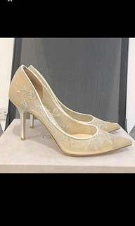 Authentic Jimmy Choo Bridal Shoes