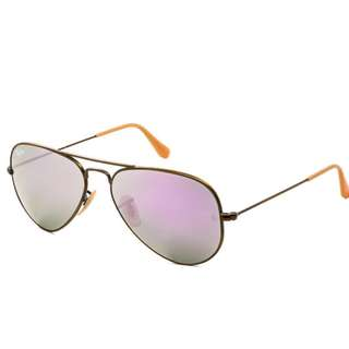 全新正貨 Ray-Ban RB3025 Aviator Flash Lenses 167/4K