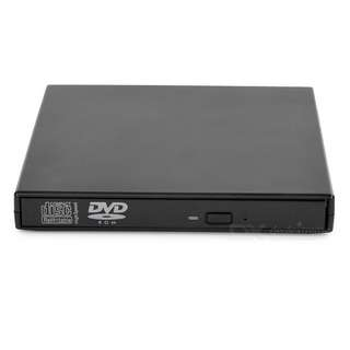 34.USB2.0 DVD-ROM / DVD Optical Drive for Laptop / Desktop - Black