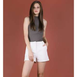 TTR SARNI TAILORED SHORTS (WHITE) S