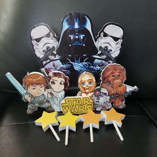 Star Wars Rollinz cake topper