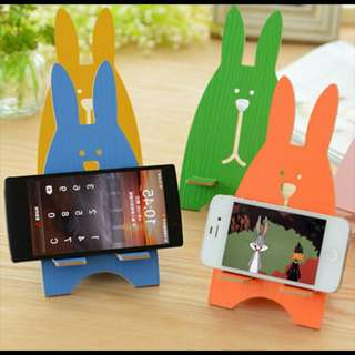 Rabbit Stand Phone holder hp dudukan handphone