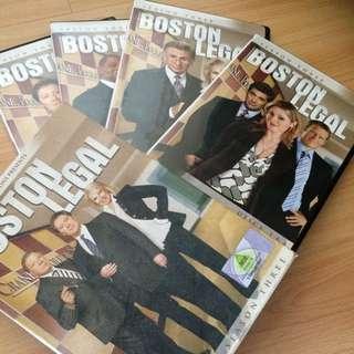 Boston legal season three DVD