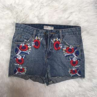 Flower Hot Pants