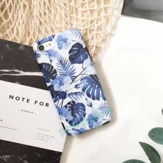 floral phone casing