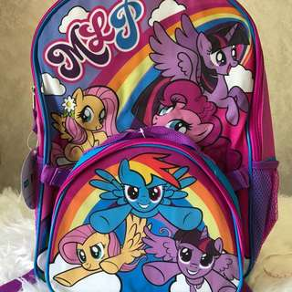 My Little Pony Backpack with lunchkit
