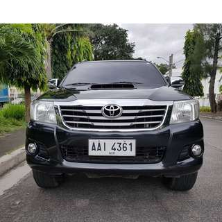Toyota Hilux 2014 G Automatic Diesel