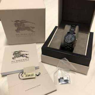 Authentic Burberry womens watch