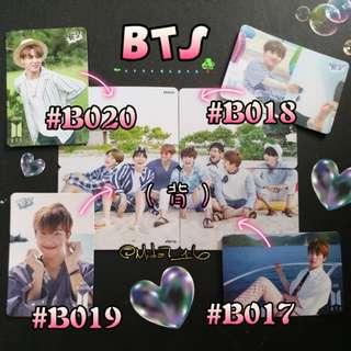 BTS - 專輯卡/YES卡( 拼圖系列五 )
