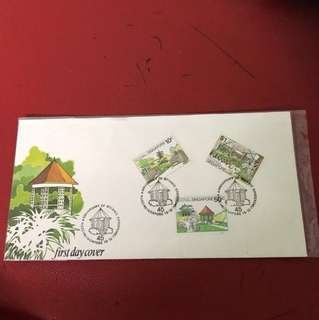Singapore FDC as in picture