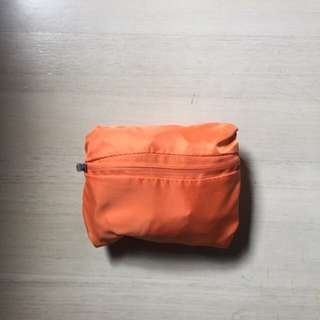 New Foldable Carrier Bag with Big Zipped Pocket
