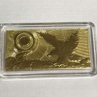 {Collectibles Item - 24K Pure Gold} 金是永恆 999(24K) 0.2Grams Pure Gold 足金 大展鴻图