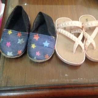Bundle of 2 toddler sandals
