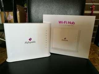MyRepublic Wifi Hub for sale (AC1600 router)