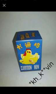 ms140中國制卡通雞(上鍊發條)