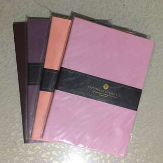 Victoria's Journals Venzi Cahier Dotted Notebook A5 (pink, purple, pastel orange, brown)
