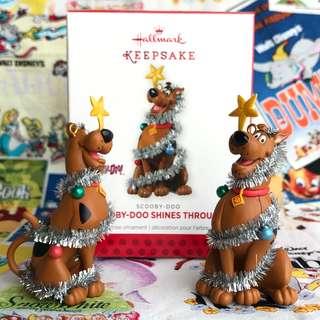 盒装Hallmark Hanna Barbear 史酷比 Scooby-Doo 叔比狗 聖誕公仔