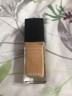 Chanel Vitalumiere Foundation 20 Clair