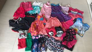 Girls clothes aged 3-8