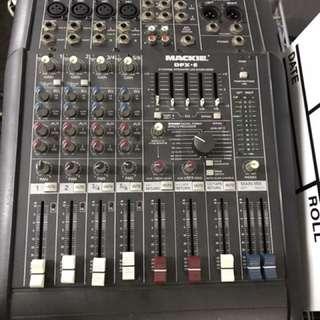 MACKIE DFX6 MIXER 便携式 调音台